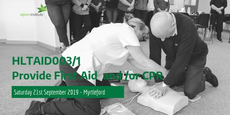 HLTAID001 - Provide Cardiopulmonary Resuscitation (CPR) 21st September 2019 - Myrtleford tickets