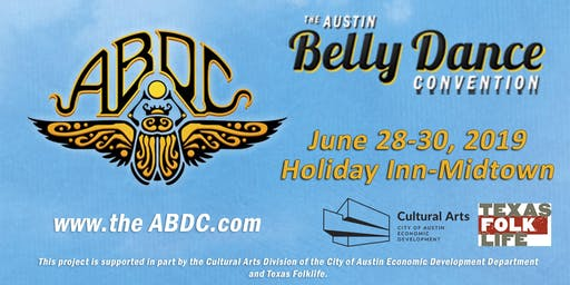Advertisement for The Austin Belly Dance Convention 2019