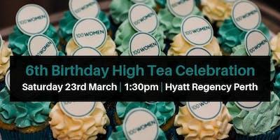 100 Women 6th Birthday High Tea
