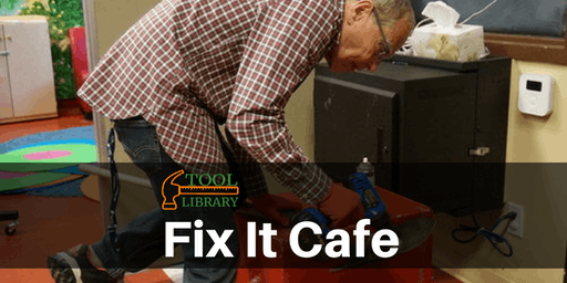 St. Albert Tool Library Fix It Cafe