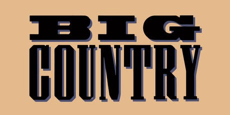 BIG COUNTRY (Scotland) tickets