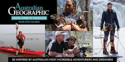 Australian Geographic Awards Roadshow – Perth 27th Feb 2019