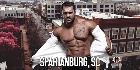 Muscle Men Male Strippers Revue Show & Male Strip club Shows Spartanburg SC - 8pm to 10pm