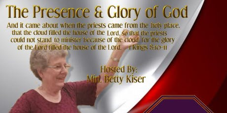 The Presence and Glory of God tickets
