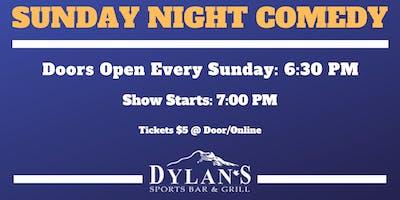 Sunday Night Comedy @ Dylan\
