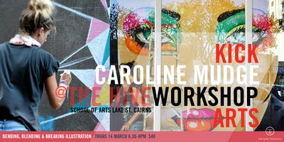Bending, Blending & Breaking Illustration | Workshop with Caroline Mudge
