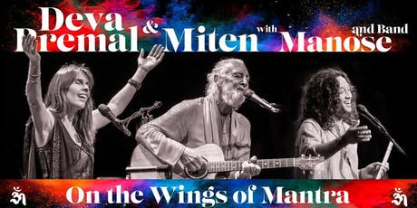Deva Premal & Miten with Manose - On The Wings of Mantra Tickets