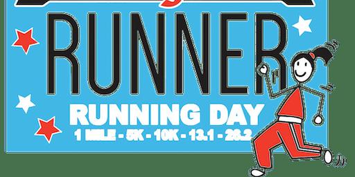 2019 Running Day 1 Mile, 5K, 10K, 13.1, 26.2 - Baton Rouge