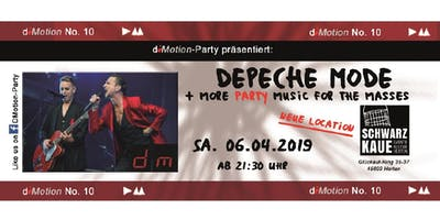 dMotion No. 10 - Depeche Mode & more party music f