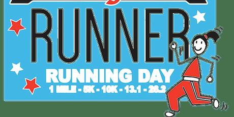 2019 Running Day 1 Mile, 5K, 10K, 13.1, 26.2 - Raleigh tickets