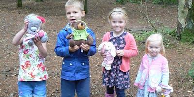 Teddy Bear Treasure Hunt at Brereton Heath Local Nature Reserve