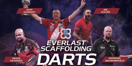 The Everlast Scaffolding Darts Dazzler XIII tickets