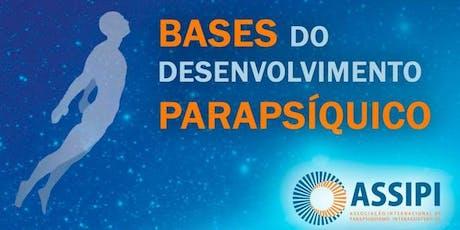Bases do Desenvolvimento Parapsíquico ingressos