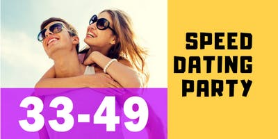 Speed Dating & Singles Party | ages 33-49 | Canberra