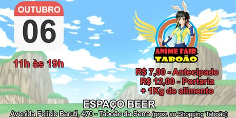 Anime Fair Taboão tickets