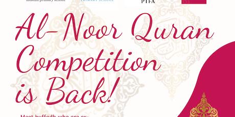 Al-Noor Quran Competition 2019 tickets