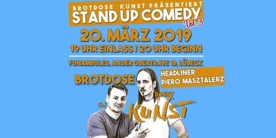 Brotdose Kunst Stand Up Comedy #3 - Headliner: Piero Masztalerz