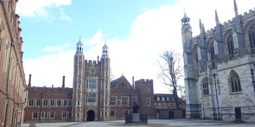 Tours of Eton College - Friday afternoons