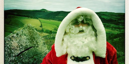 Father Christmas at Tegg's Nose Country Park - 14th December