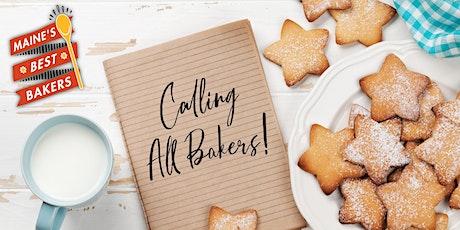 Maine's Best Bakers - BAKER REGISTRATION  tickets