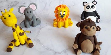 Fondant Modelling - Teddy Bear & Giraffe tickets