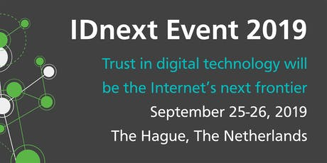 IDnext '19 - The European Digital IDentity (un)-conference, The Netherlands. billets