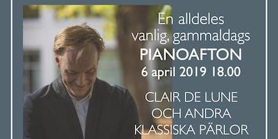En alldeles vanlig, gammaldags PIANOAFTON: Clair de Lune och andra pärlor