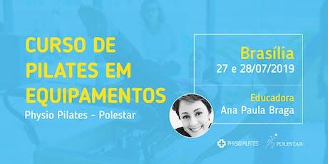 Curso de Pilates em Equipamentos - Physio Pilates Polestar - Brasília ingressos