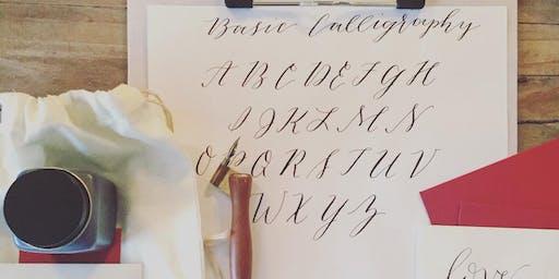 Modern Calligraphy Workshop - Holidays!