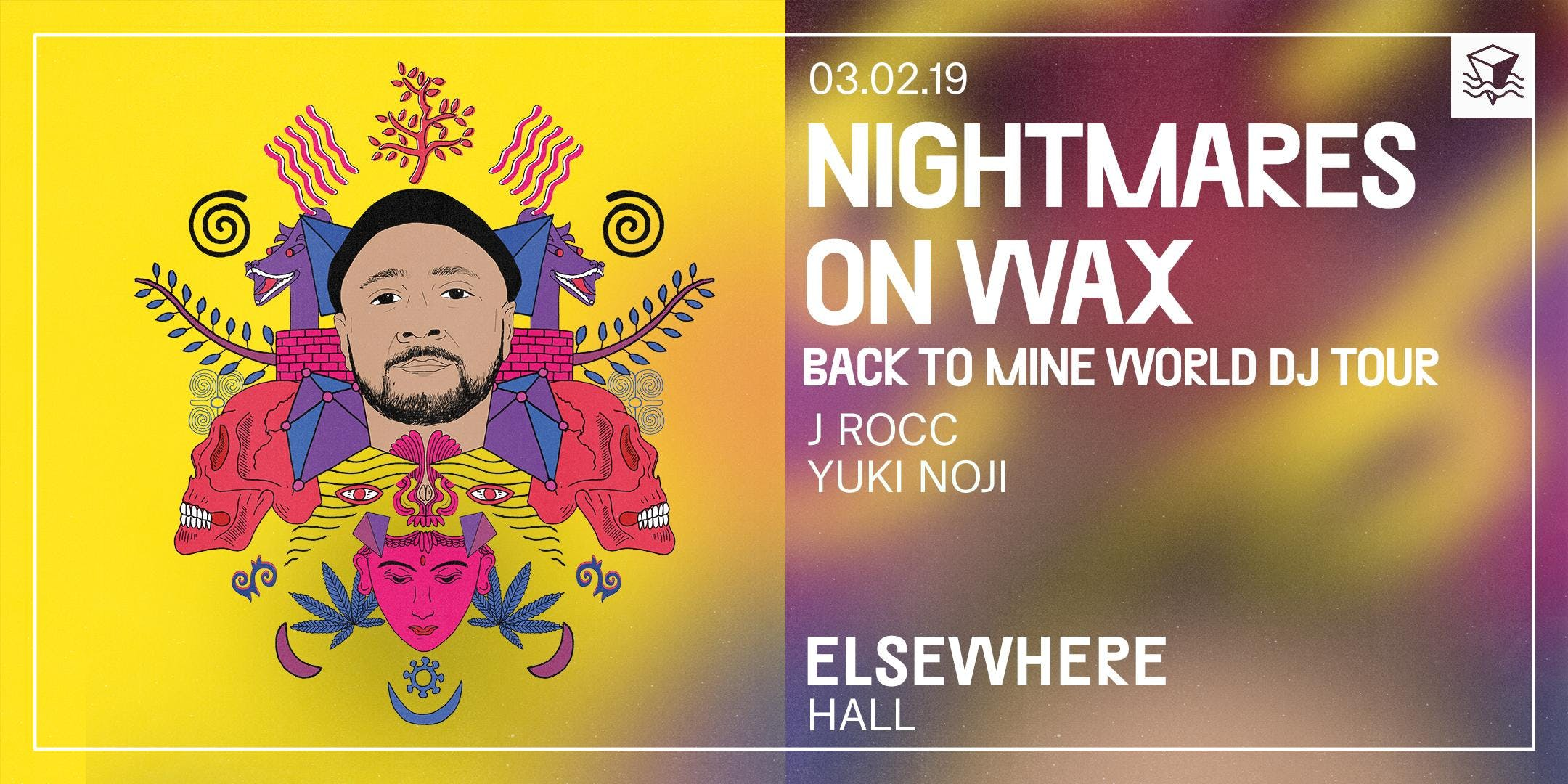 Nightmares on Wax (DJ Set), J Rocc & Yuki Noji