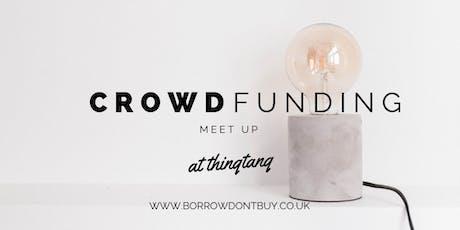 Crowd-FUN-ding Meetup tickets