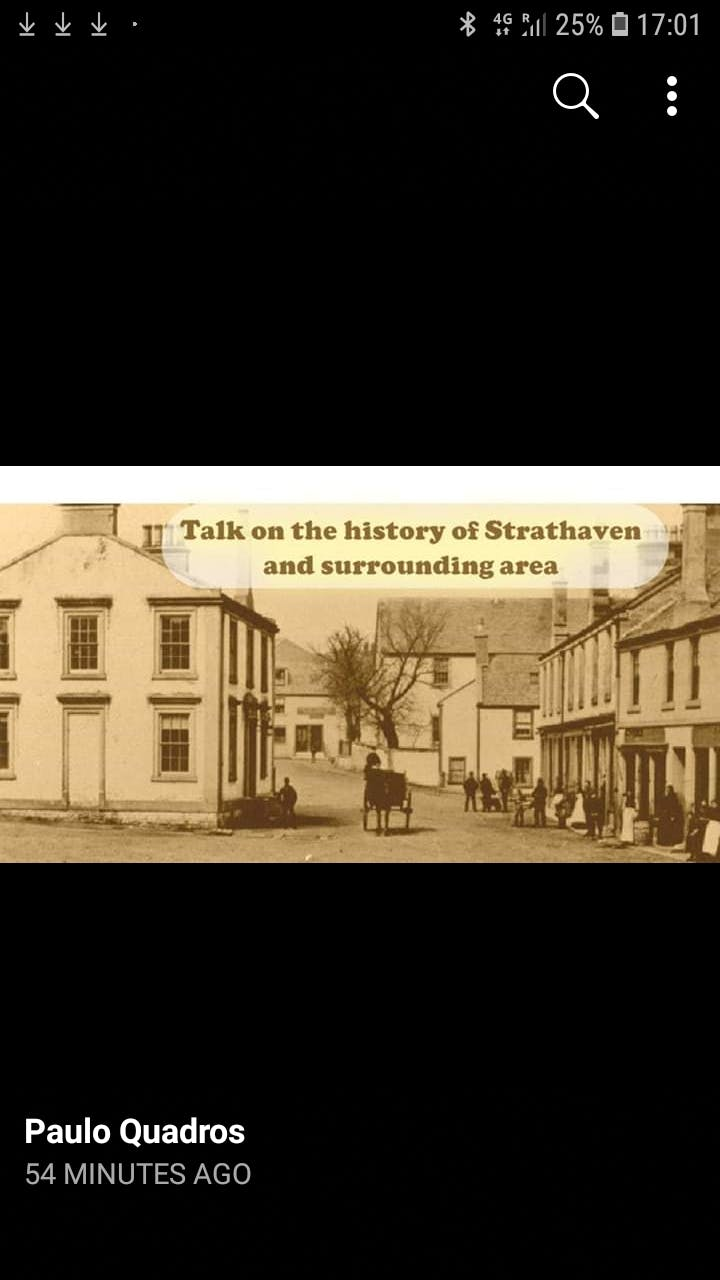 Talk on the history of Strathaven and surroun