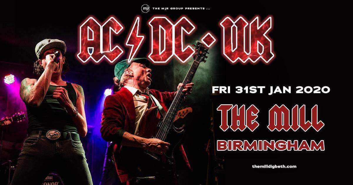 ACDC UK (The Mill Birmingham)