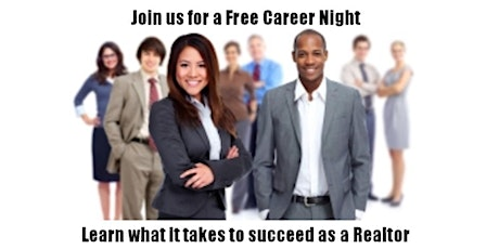 Real Estate Virtual Career Night - learn what a career in R.E. looks like tickets