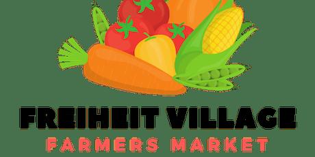 Freiheit Village Farmers Market tickets