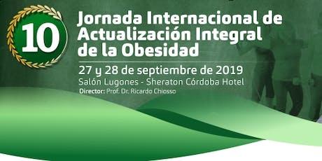 10 Jornada Internacional de Actualización Integral de la Obesidad entradas