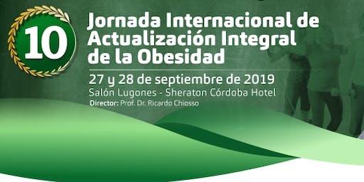 10 Jornada Internacional de Actualización Integral de la Obesidad