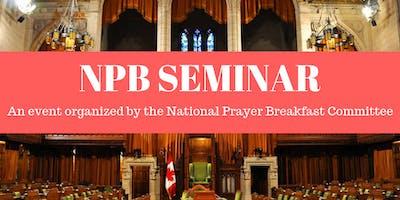 2019 Leadership Seminar of the National Prayer Breakfast of Canada