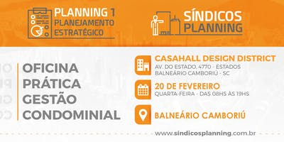 PLANNING 1 - OFICINA DE PLANEJAMENTO ESTRATÉGICO DO SÍNDICOS PLANNING