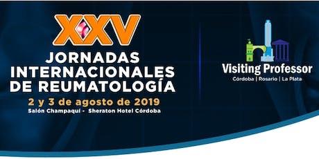 XXV Jornadas Internacionales de Reumatología | Vissiting Professor 2019 entradas