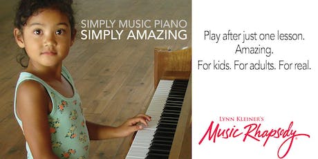 Free Piano Introduction (ages 6 and up) - Friday, Oct. 18th at 2:45pm tickets