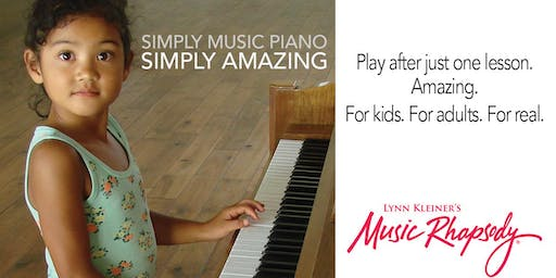 Free Piano Introduction (ages 6 and up) - Friday, Oct. 18th at 2:45pm