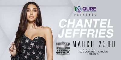 Chantel Jeffries LIVE at The Annex on March 23rd!