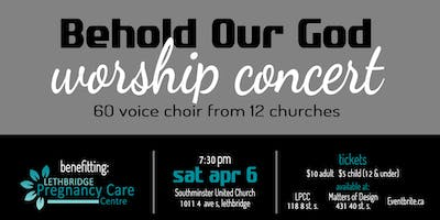 Behold our God Worship Concert, benefiting the LPCC