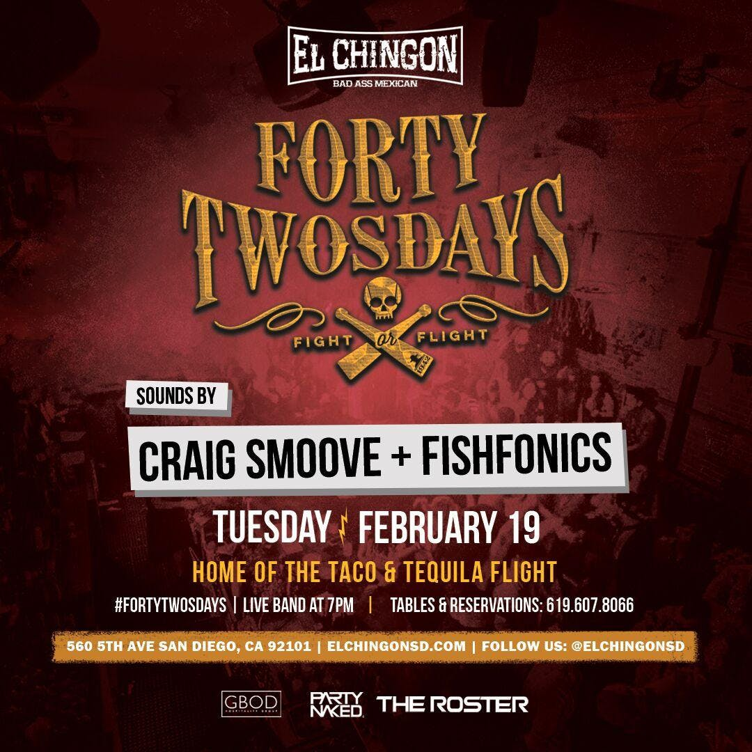 Forty-Twosdays With Craig Smoove and Fishfoni