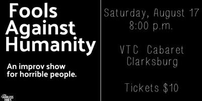 Fools Against Humanity at The VTC Cabaret Series (improv comedy)