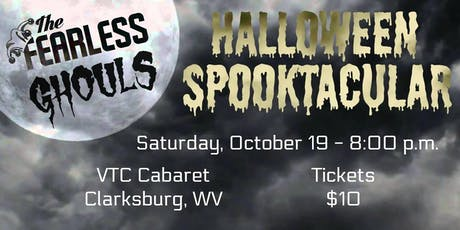 The Fearless Ghouls Halloween Spooktacular at The VTC Cabaret Series tickets