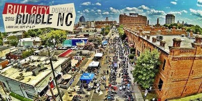 2019 Bull City Rumble - Vintage Motorcycle Show & Swap