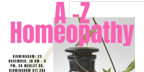 A - Z Homeopathy tickets