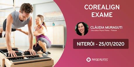 Formação em CoreAlign - Exame - Physio Pilates Balanced Body - Niterói ingressos
